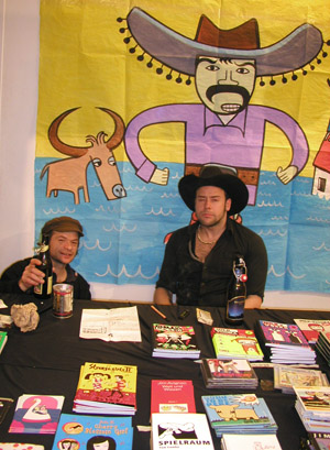 the notorious milk&wodka brothers at fumetto